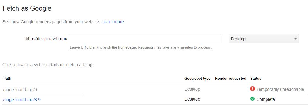 fetch-as-googlebot-timeout